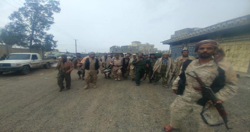اللواء فضل حسن يشيد بحنكة قيادة جبهة قعطبة وبسالة وحداتها