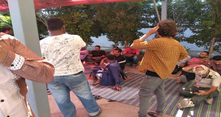 اخبار عدن - عمال في عدن مول ينفون تنظيم وقفة احتجاجية للمطالبة بالحافز السنوي